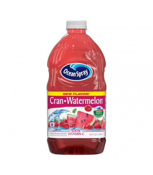 Ocean Spray Cran-Watermelon Juice - 64fl.oz (1.89L) Soda and Drinks Ocean Spray