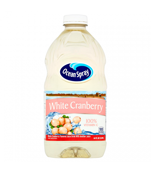 Ocean Spray - White Cranberry Juice - 64fl.oz (1.89L) ** Best Before: 28th January 2018** Soda and Drinks