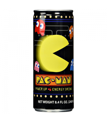 Pac-Man Power Up Energy Drink 8fl.oz (248ml) Energy & Sports Drinks