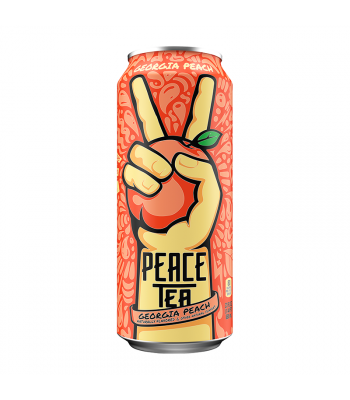 Peace Tea Peach Party - 23fl.oz (680ml) Soda and Drinks