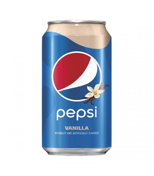 Pepsi Vanilla - 12fl.oz (355ml) Soda and Drinks Pepsi