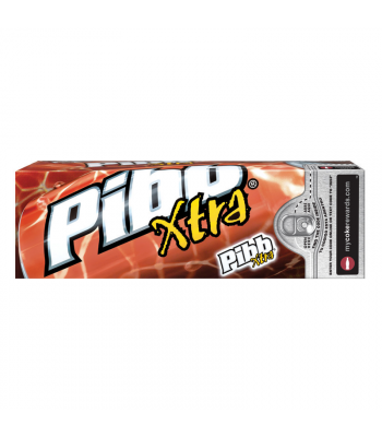 Pibb Xtra 12fl.oz (355ml) 12-Pack Cans Regular Soda Pibb Xtra