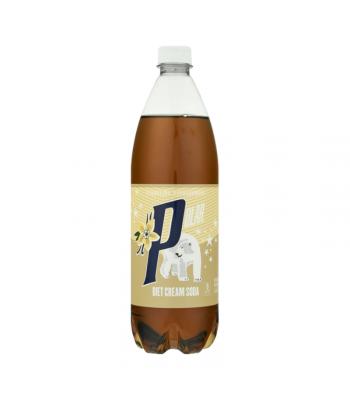 Polar Diet Cream Soda - 33.8 fl.oz (1 Litre) Soda and Drinks Polar