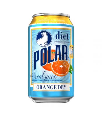 Polar Sparkling Beverage - Diet Orange Dry - 12fl.oz (355ml)