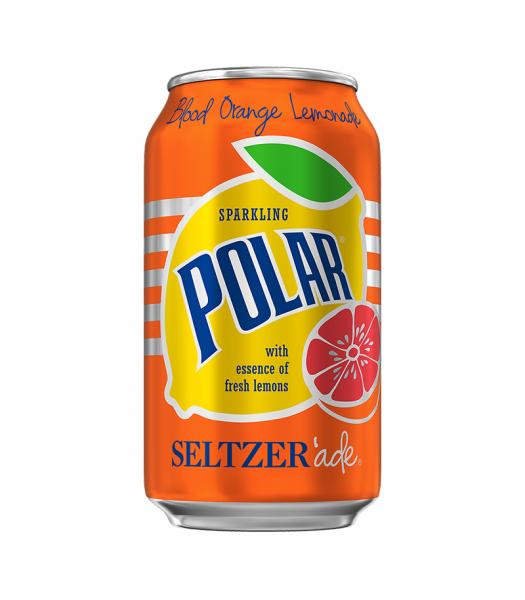 Polar Seltzer'Ade Blood Orange Lemonade - 12fl.oz (355ml) Soda and Drinks Polar