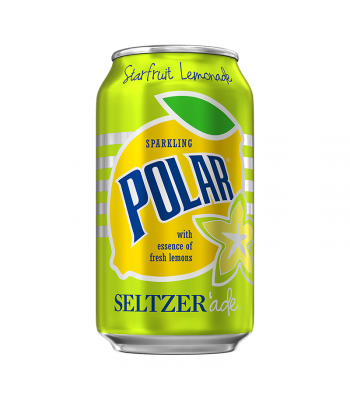 Polar Seltzer'Ade Starfruit Lemonade - 12fl.oz (355ml) Soda and Drinks Polar
