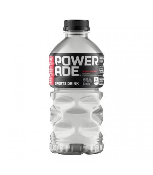 Powerade (U.S) White Cherry - 28oz (828ml) Soda and Drinks