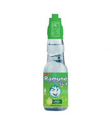 Ramuné Premium Marble Soda - Lime - 8.45fl.oz (250ml) Soda and Drinks