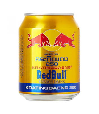 Red Bull Krating Daeng (Thailand) 250ml Soda and Drinks