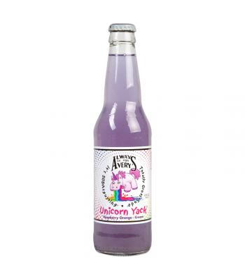 Rocket Fizz - Always Ask For Avery's Unicorn Yack Soda - 12fl.oz (355ml) Soda and Drinks Rocket Fizz