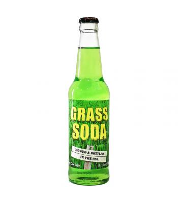 Rocket Fizz - Grass Soda - 12fl.oz (355ml) Soda and Drinks Rocket Fizz