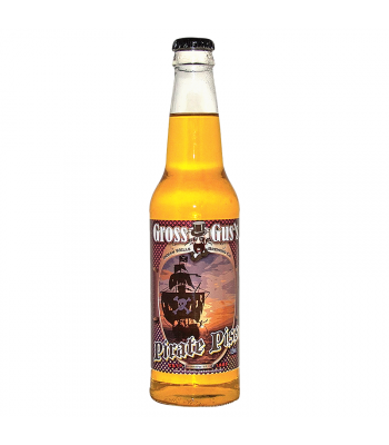 Rocket Fizz - Gross Gus's Pirate Piss Soda - 12fl.oz (355ml) Regular Soda Rocket Fizz
