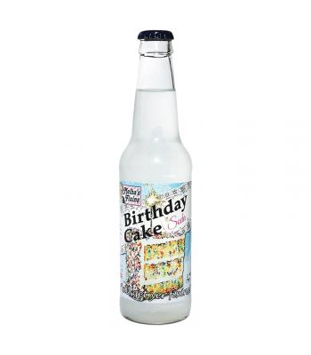 Rocket Fizz - Melba's Fixins Birthday Cake Soda - 12fl.oz (355ml) Soda and Drinks Rocket Fizz