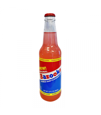 Rocket Fizz - Bazooka Bubble Gum Soda - 12oz (355ml) Soda and Drinks Rocket Fizz