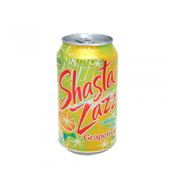 Shasta Grapefruit Zazz - 12fl.oz (355ml) Soda and Drinks Shasta