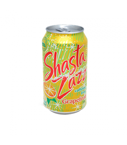Shasta Grapefruit Zazz - 12fl.oz (355ml) Soda and Drinks Shasta