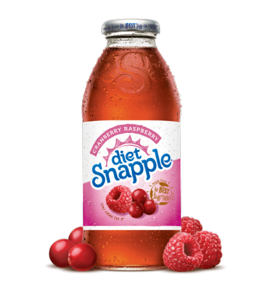 Snapple Diet Cranberry Raspberry 16oz (473ml) Fruit Juice & Drinks Snapple