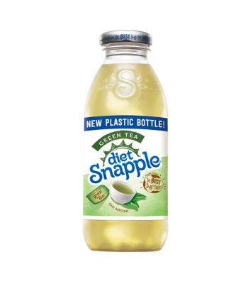 Clearance Special - Snapple Diet Green Tea - 16fl.oz (473ml) **Best Before: 18 July 19** Clearance Zone