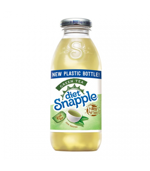Snapple Diet Green Tea - 16fl.oz (473ml) Fruit Juice & Drinks Snapple