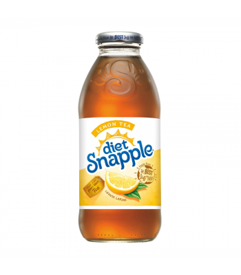Snapple Diet Lemon Tea 16oz (473ml) Fruit Juice & Drinks Snapple