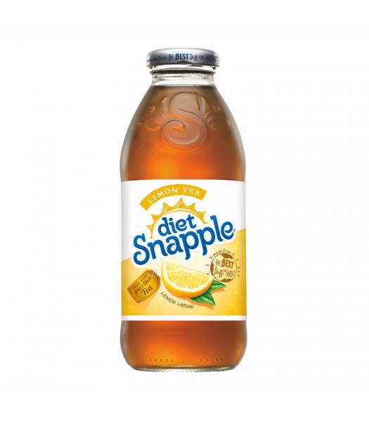 Snapple Diet Lemon Tea 16oz (473ml) Fruit Juice & Drinks Snapple