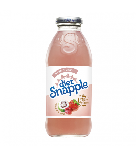 Snapple Diet Noni Berry Tea 16oz (473ml) Fruit Juice & Drinks Snapple