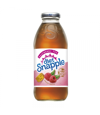 Snapple Diet Raspberry Tea 16oz (473ml) Fruit Juice & Drinks Snapple
