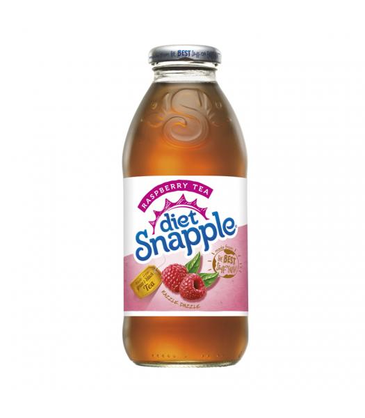 Snapple Diet Raspberry Tea 16oz 473ml  American Fizz