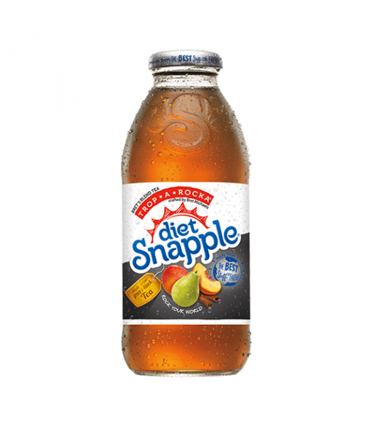 Snapple Diet Trop-A-Rocka Tea 16oz (473ml) Fruit Juice & Drinks Snapple