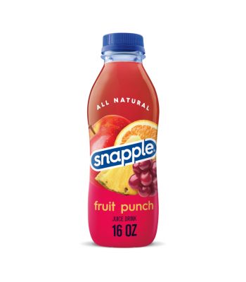 Snapple Fruit Punch - 16fl.oz (473ml) Soda and Drinks Snapple