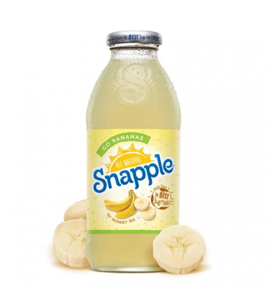 Snapple Go Bananas 16fl.oz (473ml) Soda and Drinks Snapple