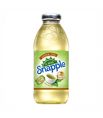 Snapple Green Tea 16oz (473ml) Iced Tea Snapple