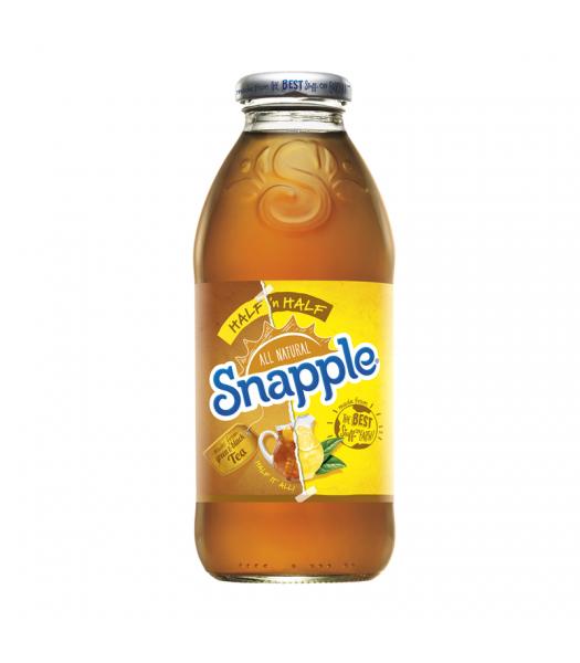 Snapple Half and Half Tea Lemonade 16oz (473ml) Iced Tea Snapple