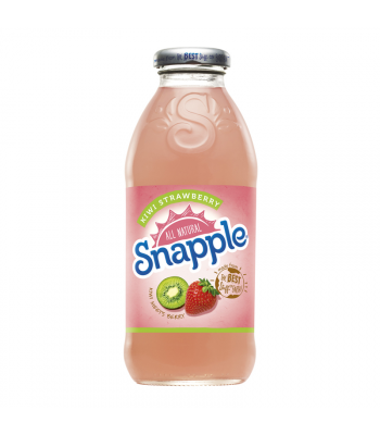 Snapple Kiwi Strawberry 16oz (473ml) Fruit Juice & Drinks Snapple