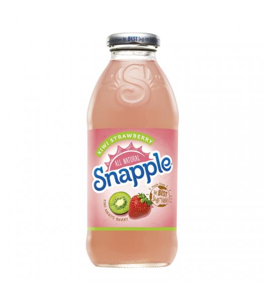 Snapple Kiwi Strawberry 16oz (473ml) Fruit Juice & Drinks Snapple