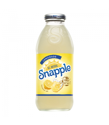 Snapple  Lemonade 16oz (473ml) Fruit Juice & Drinks Snapple