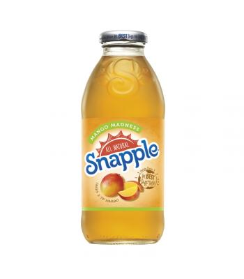 Snapple Mango Madness 16oz (473ml) Fruit Juice & Drinks Snapple