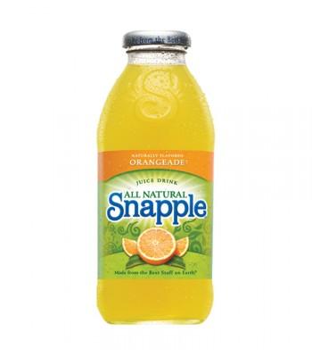 Snapple Orangeade 16oz (473ml) Fruit Juice & Drinks Snapple