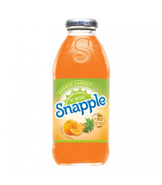 Snapple Orange & Carrot 16fl.oz (473ml) Soda and Drinks Snapple