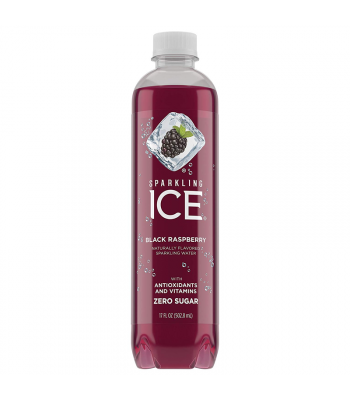 Sparkling ICE Black Raspberry - 17fl.oz (502.8ml) Soda and Drinks Sparkling ICE