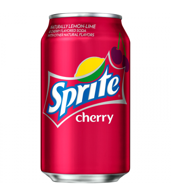 Sprite Cherry Flavour - Limited Edition - 12fl.oz (355ml) Can Regular Soda