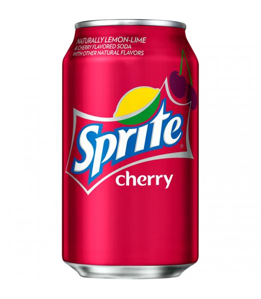 Sprite Cherry Flavour - Limited Edition - 12fl.oz (355ml) Can Regular Soda