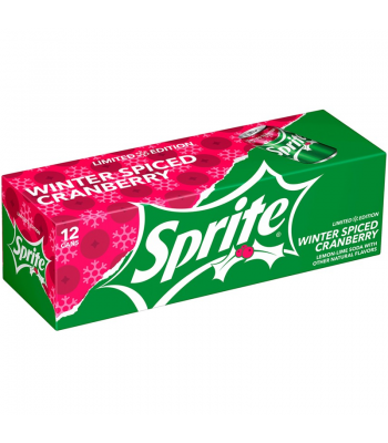 Sprite Winter Spiced Cranberry - 12fl.oz (355ml) 12-Pack Soda and Drinks