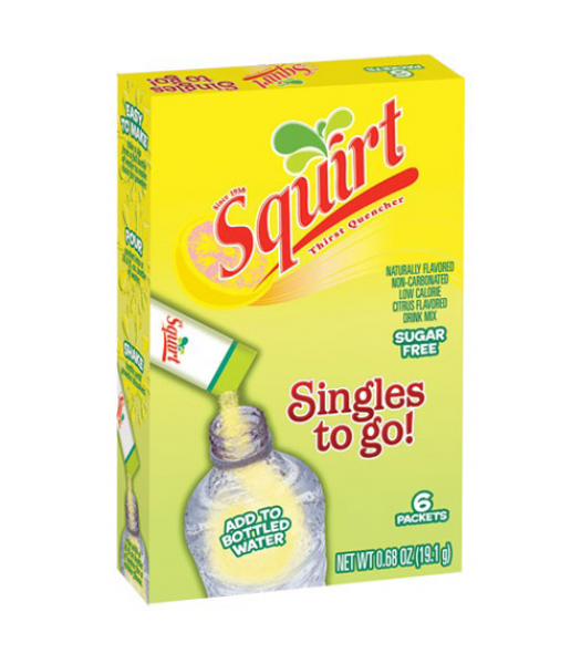 Clearance Special - Squirt Singles to go! 0.68oz (19.1g) ** Best Before: March 2017 **