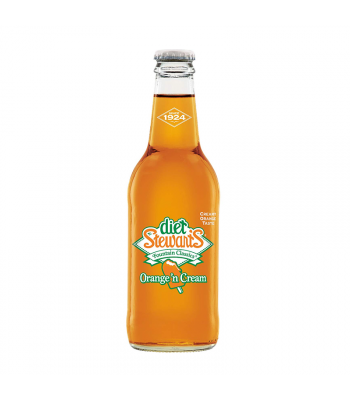 Stewart's Diet Orange 'n Cream Soda - 12fl.oz (355ml) Soda and Drinks
