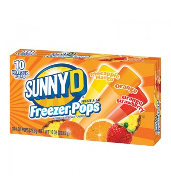 Sunny D Freezer Bars 1oz (28.3g) 10-Pack Food and Groceries Sunny D