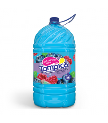 Tampico Blue Raspberry Punch - 1 Gallon (3.78ltr) Soda and Drinks