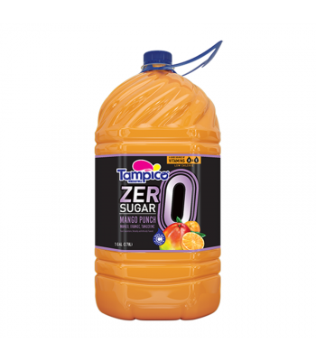 Tampico Zero Mango Punch - 1 Gallon (3.78ltr) Soda and Drinks