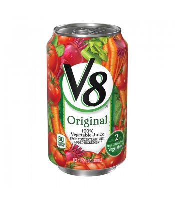 V8 Vegetable Juice 11.5oz (340ml) Soda and Drinks