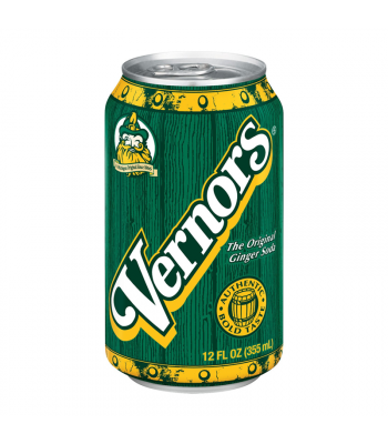 Vernors Ginger Ale Soda - 12fl.oz (355ml) Soda and Drinks